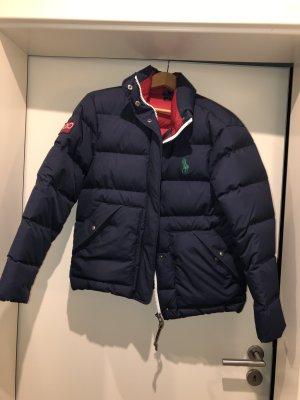 Polo Ralph Lauren Down Jacket dark blue-red