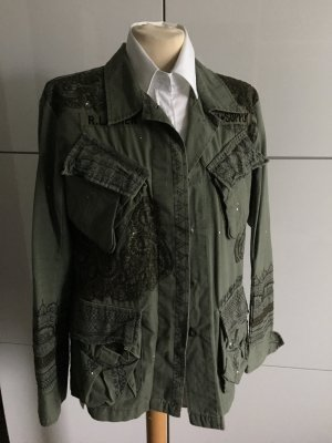 Ralph Lauren denim supply bestickte Jacke