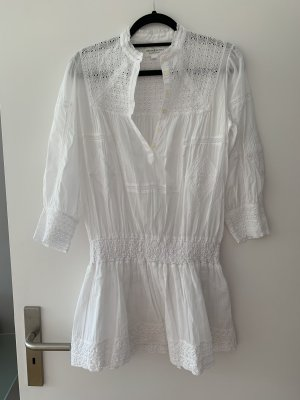 Denim & Supply Ralph Lauren Vestido Hippie blanco Algodón
