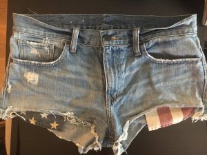 Denim & Supply Ralph Lauren Hot pants multicolore Cotone