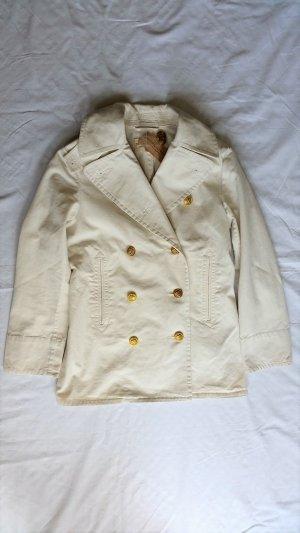 Ralph Lauren Pea Jacket white cotton