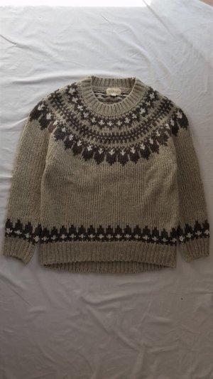 Ralph Lauren Denim & Supply, Pullover, braun-beige, S, neu