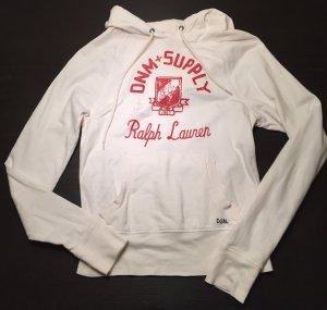 Denim & Supply Ralph Lauren Jersey con capucha beige claro-rojo ladrillo