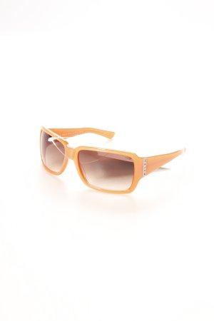 Ralph Lauren eckige Sonnenbrille apricot klassischer Stil