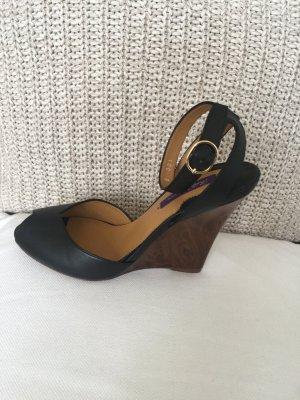 Ralph Lauren Wedge Sandals black