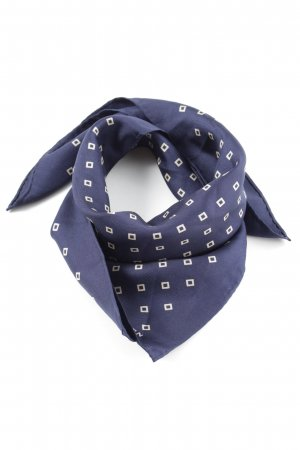 Ralph Lauren Pocket Square blue-white allover print casual look