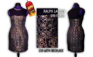 Ralph Lauren elegant dress