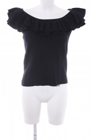 Ralph Lauren Fine Knitted Cardigan black casual look