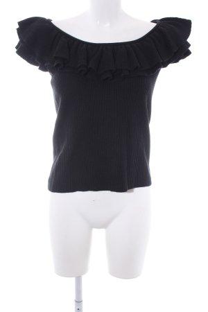 Ralph Lauren Feinstrickpullunder schwarz Casual-Look
