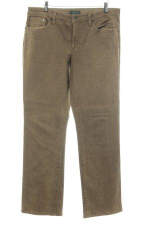 Ralph Lauren Pantalone cinque tasche color cammello stile semplice