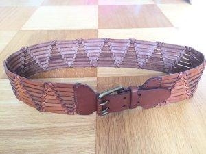 Ralph Lauren Cinturón trenzado coñac-color bronce