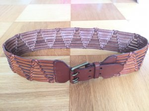 Ralph Lauren Braided Belt cognac-coloured-bronze-colored