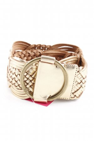 Ralph Lauren Braided Belt gold-colored extravagant style