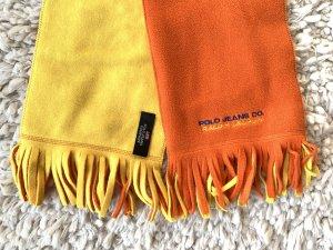 Ralph Lauren gelb/oranger Fleece Schal