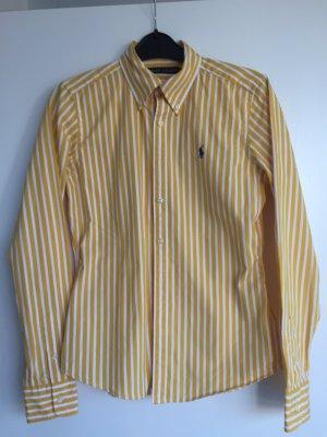 Ralph Lauren gelb/weiß gestreifte Bluse