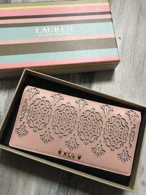 Ralph Lauren Geldbörse in Rose neu mit toller Box