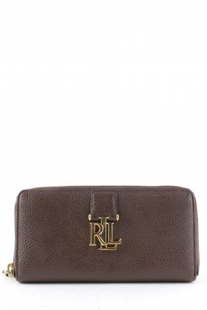 "Ralph Lauren Geldbörse ""Zip Wallet Burnished Brown"" braun"