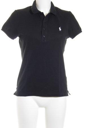 Ralph Lauren Golf Polo-Shirt schwarz-weiß Casual-Look