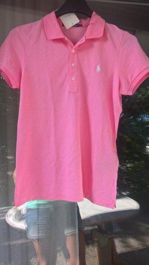Ralph Lauren Golf Poloshirt rosa Gr. L 40-42