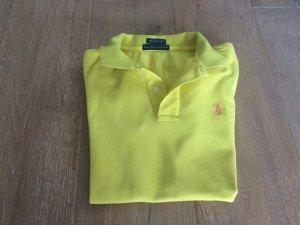 Ralph Lauren Gr. 36 S the skinny Polo gelb Poloshirt T-Shirt NP 60€