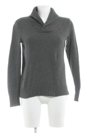 Ralph Lauren Pullover a maglia grossa grigio scuro stile casual