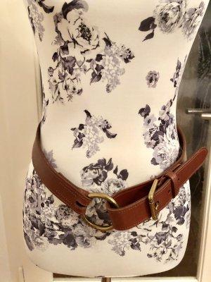 Ralph Lauren Leather Belt cognac-coloured