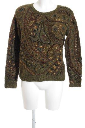 Ralph Lauren Pull en crochet Mélange de motifs style décontracté