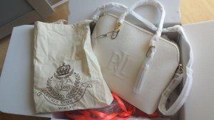 Ralph Lauren Handtasche/Neu Verpackt/Weiß-Gold