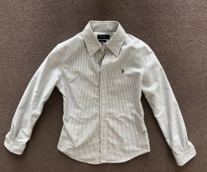 Polo Ralph Lauren Long Sleeve Shirt white-azure