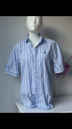 Ralph Lauren Hemd blau-weiß Gr. 36