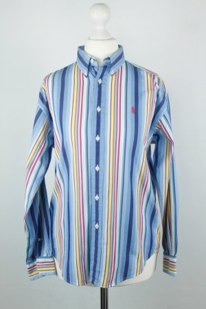 Ralph Lauren Hemd Bluse Gr. M bunt Streifen