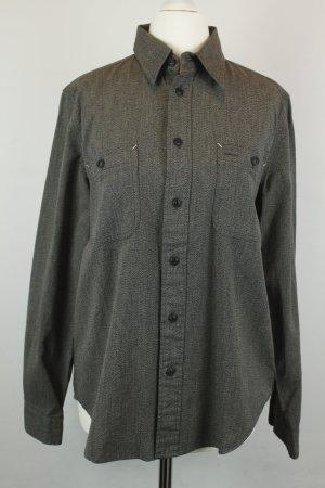 Ralph Lauren Hemd Bluse Gr. M dunkelgrau