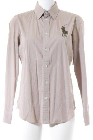 Ralph Lauren Hemd-Bluse hellbeige-khaki klassischer Stil