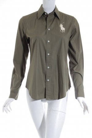Ralph Lauren Hemd-Bluse khaki-hellbeige Casual-Look