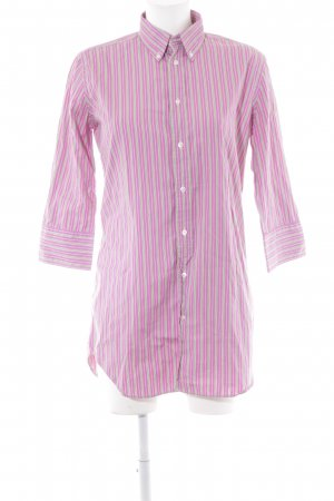 Ralph Lauren Hemd-Bluse rosa Streifenmuster Casual-Look