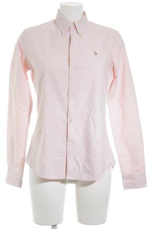 Ralph Lauren Hemd-Bluse rosé-hellbraun Business-Look