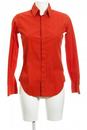Ralph Lauren Hemd-Bluse rot schlichter Stil