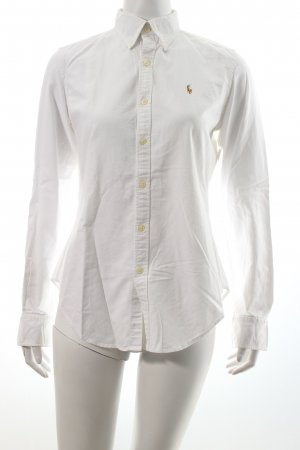 Ralph Lauren Hemd-Bluse weiß Business-Look