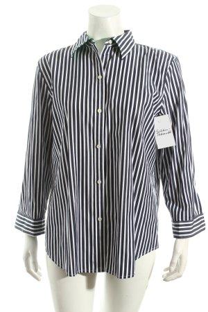 Ralph Lauren Hemd dunkelblau-weiß Streifenmuster klassischer Stil