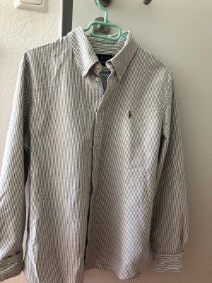 Ralph Lauren Camicia a maniche lunghe bianco-grigio chiaro