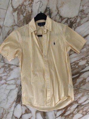 Ralph Lauren Camisa de manga corta blanco-amarillo