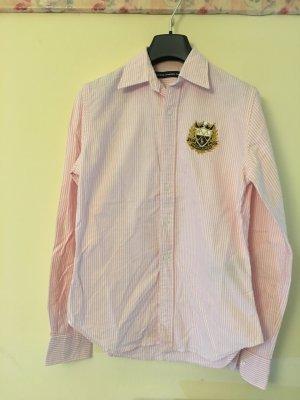 Polo Ralph Lauren Chemise à manches longues rosé-blanc coton 7ea695203e3