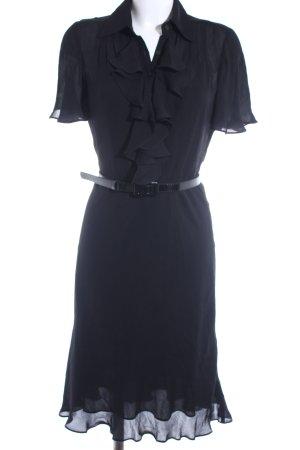 Ralph Lauren Hemdblusenkleid schwarz Elegant