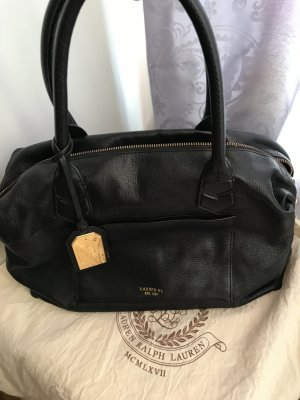 Lauren by Ralph Lauren Carry Bag black leather