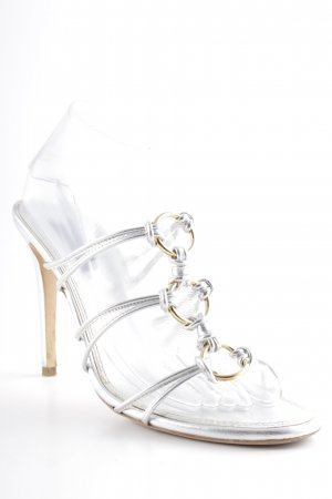 Ralph Lauren High Heel Sandal silver-colored-gold-colored elegant