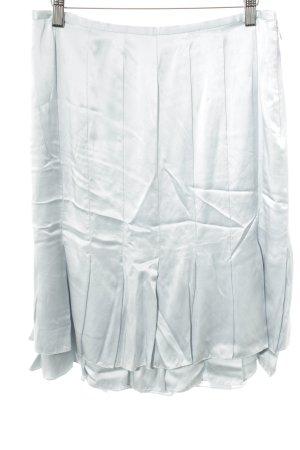Ralph Lauren Falda de talle alto azul celeste estilo extravagante
