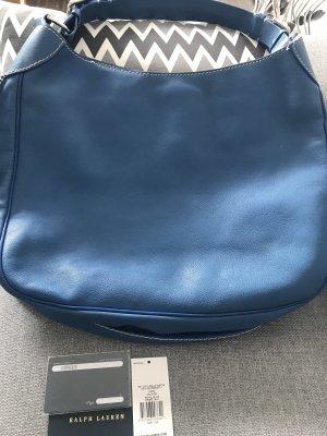 Ralph Lauren Hobos steel blue leather