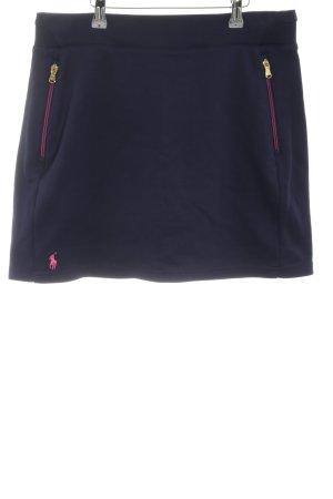 Ralph Lauren Jupes-culottes bleu-rose style décontracté