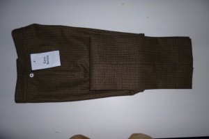 Ralph Lauren, Hüfthose, Wolle, braun-grün, Gr. 34 (US 4), neu, € 550,-