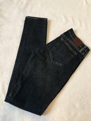 Ralph Lauren Tube jeans donkerblauw Katoen